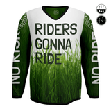 RIDERS GONNA RIDE® MTB Jersey Longsleeve LAWN - RIDERS GONNA RIDE®