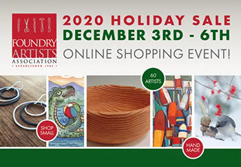 Foundry Artists Online Holiday Sale
