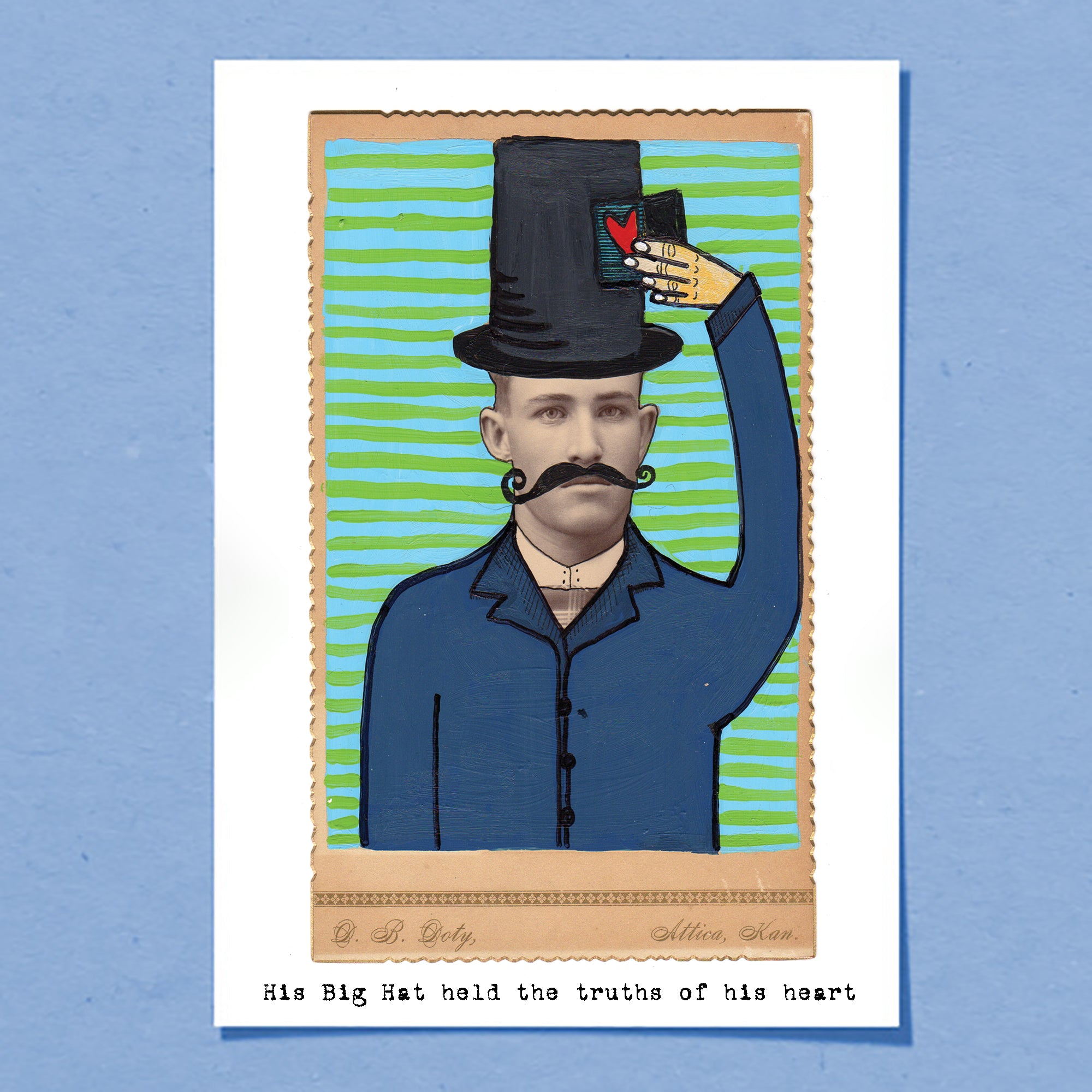Big Hat | Greeting Card