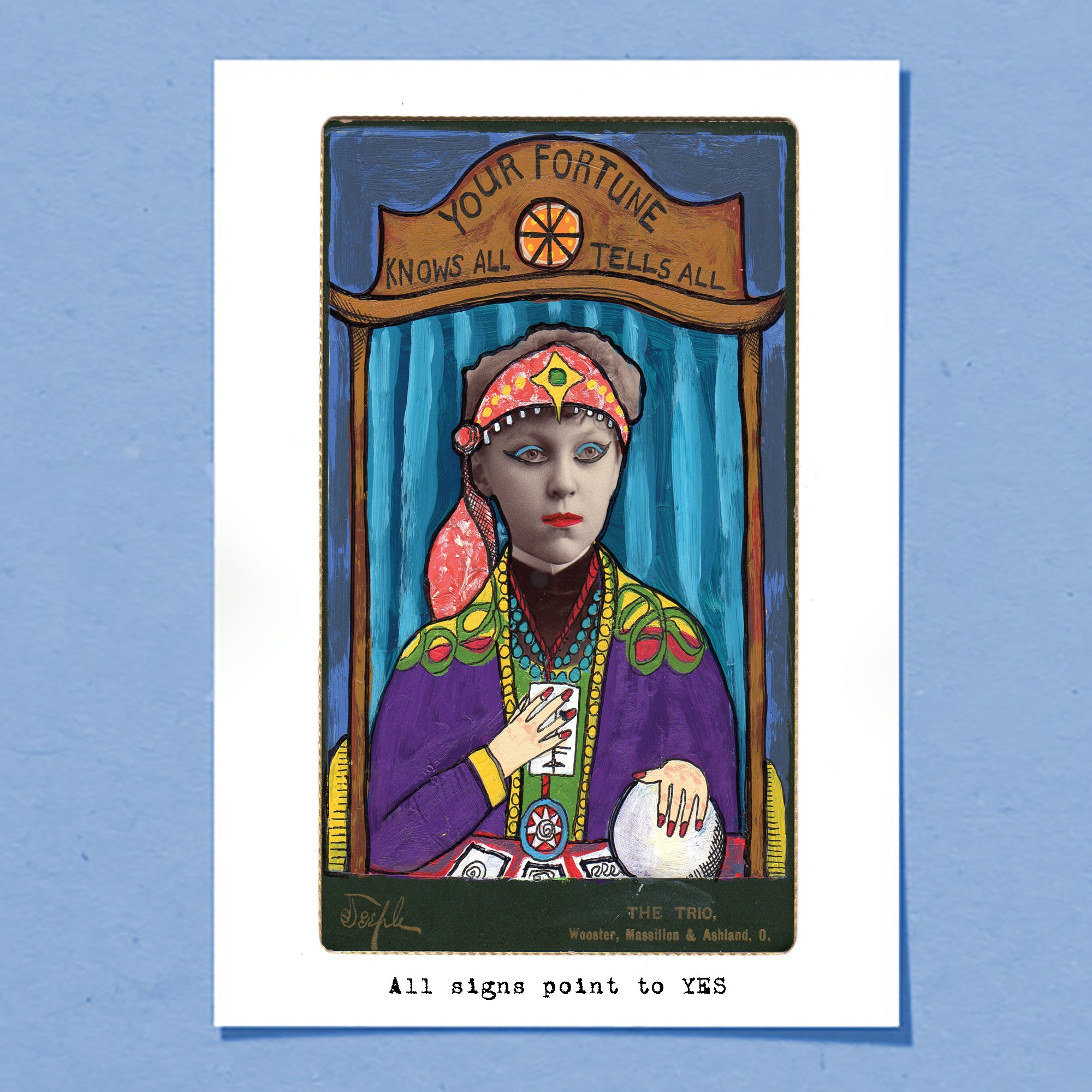Fortune Teller | Greeting Card