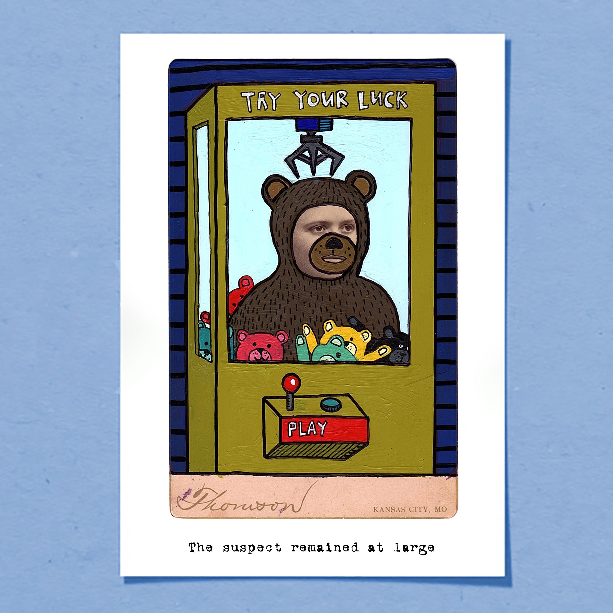 Suspect | Greeting Card