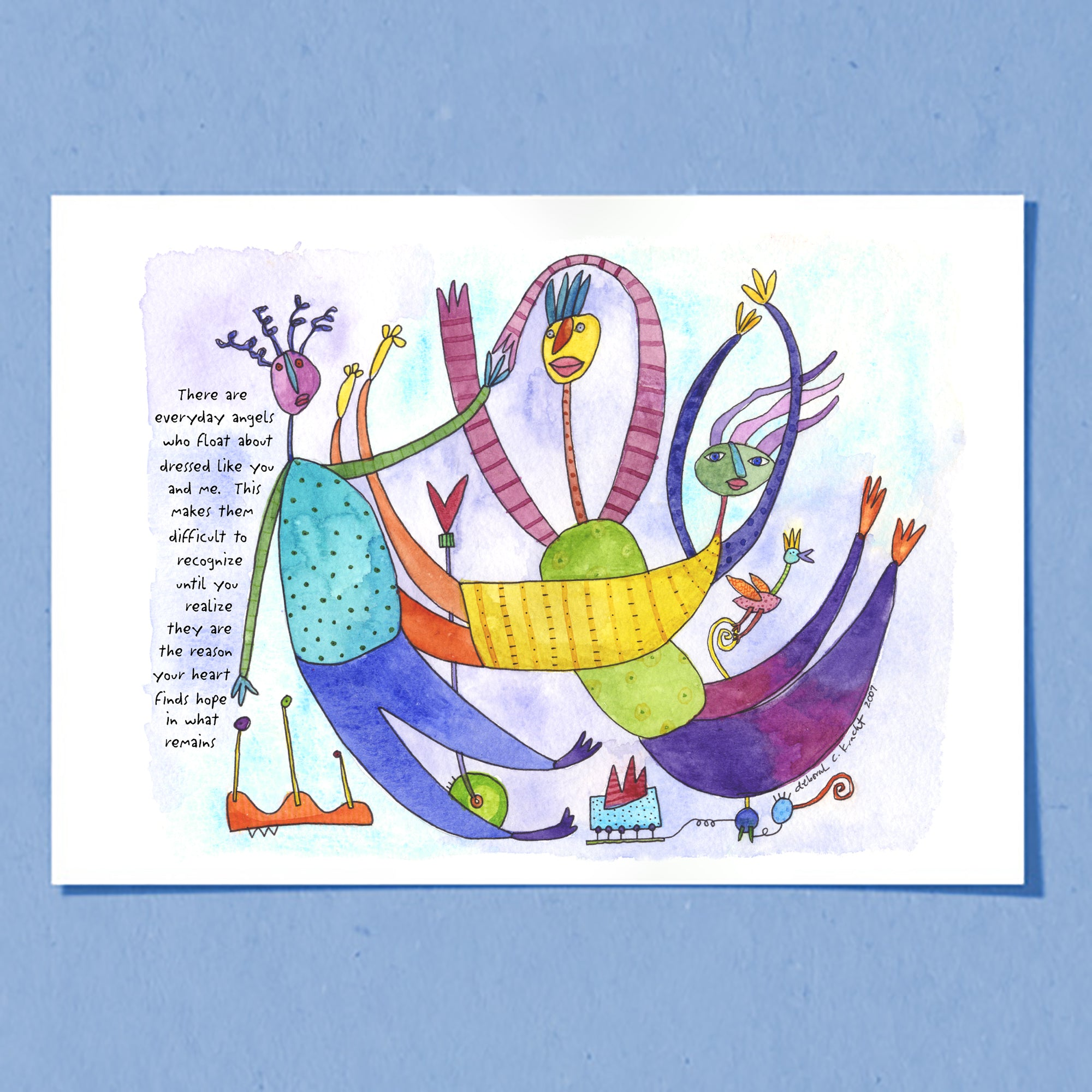 Everyday Angels | Greeting Card