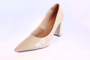 Women's Pointed Toe Block Heel Pumps