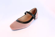 Ballet Flat  Adjustable Strap Comfort Casual Shoes