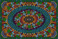Grateful Dead Terrapin Dance Tapestry