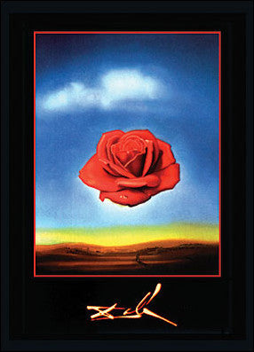 Dali: Rose Meditative Poster