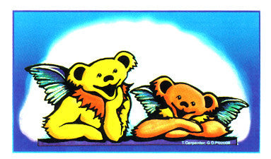 Angel Bears Sticker