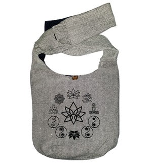 Cotton Picture Shoulder Bag