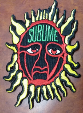 Sublime Red Sun Patch