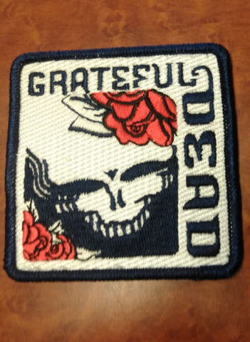 Grateful Dead Square SYF Patch