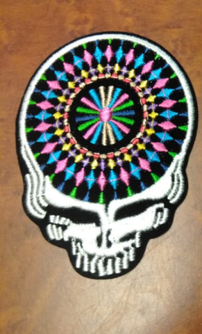 Grateful Dead Diamond Pattern SYF Patch
