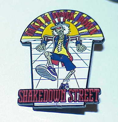 Grateful Dead Take A Walk Shakedown Hat Pin