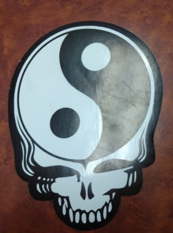 Yin Yang Stealie Sticker