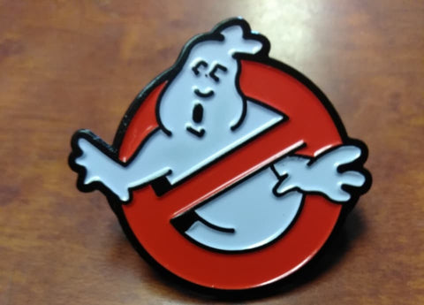 Ghostbusters Hat Pin