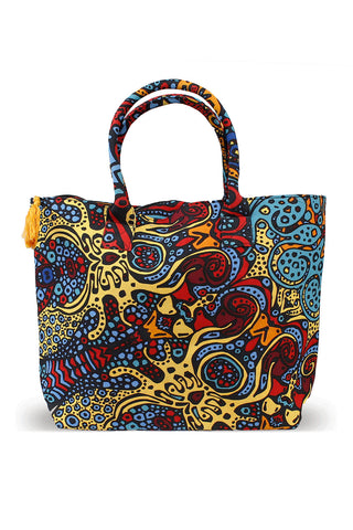 Sunburst Tapestry Tote Bag