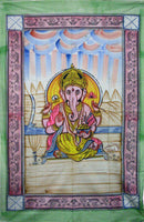 Painted Ganesh Tapestry