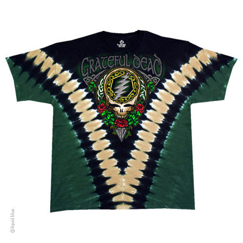 Grateful Dead Shamrock Tie Dye T-shirt