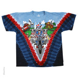Grateful Dead Moto Sam Tie dye T-Shirt