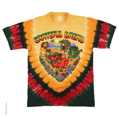 Grateful Dead Bears Positive Vibrations T-Shirt