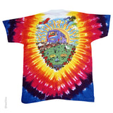 Grateful Dead Summer Tour Bus Tie Dye T-shirt