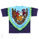 Grateful Dead Wonderland Jamband Tie Dye T-shirt