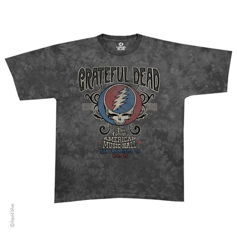 Grateful Dead 1975 American Music Hall T-shirt