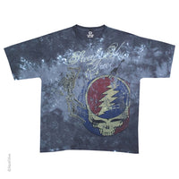 Grateful Dead Steal Your Skeleton Half Step Tie Dye T-shirt
