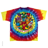 Grateful Dead Bear Jamboree Tie Dye T-shirt