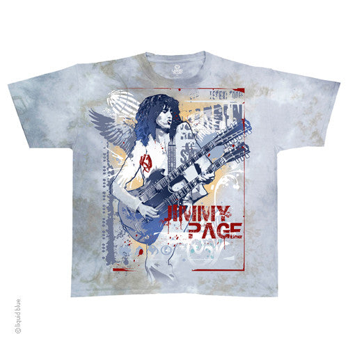 Jimmy Page Double Your Pleasure Tie Dye T-Shirt