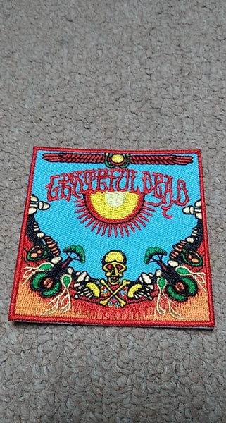 Grateful Dead Sunshine Square Patch