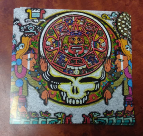 Ancient Aztec Stealie Sticker