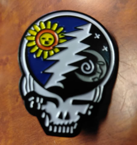 Grateful Dead Sun and Moon Hat Pin