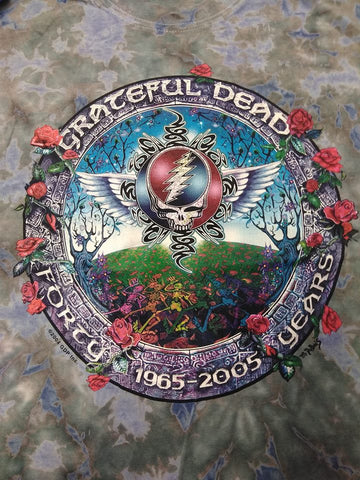 Grateful Dead 40 Years Tie Dye T-shirt