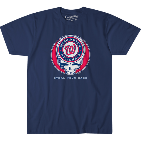 Nationals Steal Your Base T Shirt