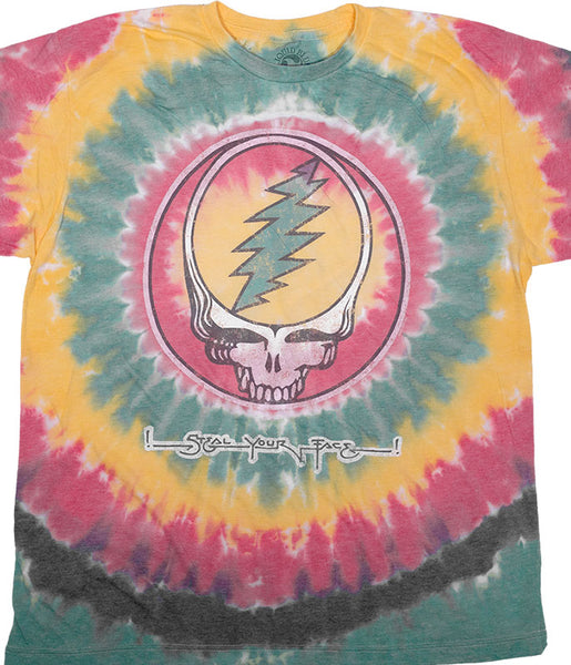 Mens Grateful Dead Vintage Rasta SYF T-Shirt