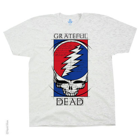 Grateful Dead Steal Your Blueprint T-Shirt