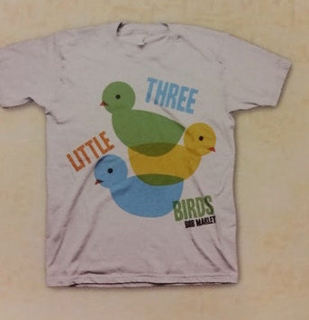 Bob Marley 3 Little Birds Youth T Shirt