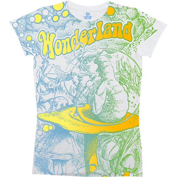 Alice in Wonderland Caterpillar Women's T-shirt