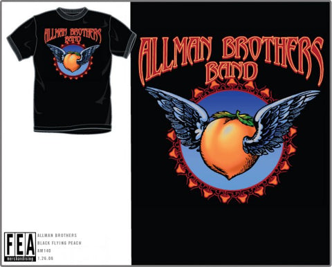 Allman Brothers Flying Peach T-Shirt
