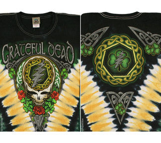 Grateful Dead Shamrock Tie-dye LS T-shirt