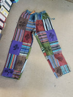 Cotton and Rayon Patch Pants