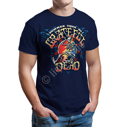 Mens Grateful Dead Strutting Skelly T Shirt