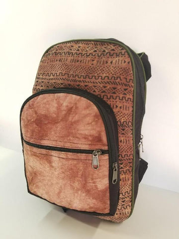 Light Tie-Dye Tribal Backpack