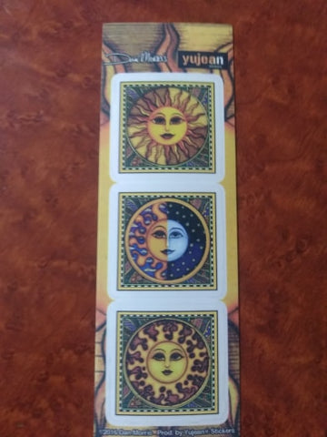 3 Suns Multi-Pack Sticker