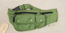 Carefree Double Pocket Cotton Fanny Pack