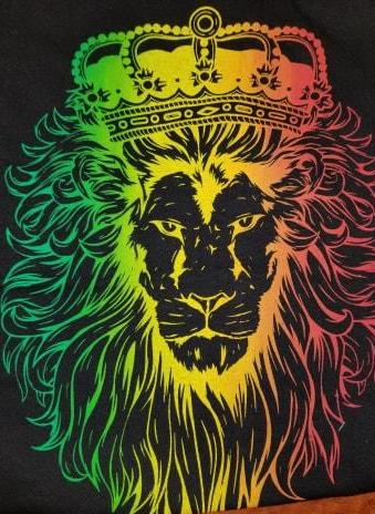 Men's Rasta Lion Tank Top