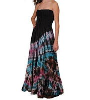Tie-Dye Summer Love Maxi Dress