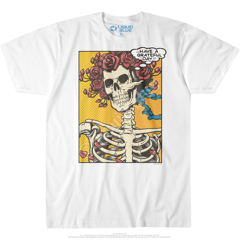 Mens Grateful Dead Pop Art Bertha T Shirt