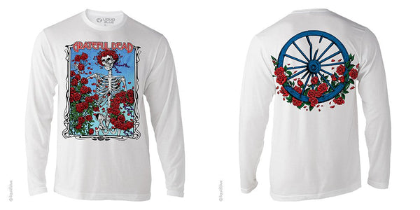 Grateful Dead Bertha Wheel LS T-Shirt