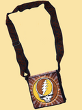 Grateful Dead Hand Embroidered Messenger Bag